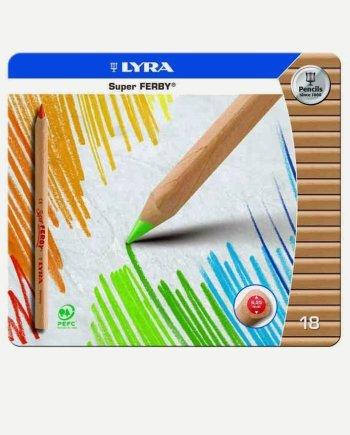 Lyra Super Ferby Pencils - Set of 18