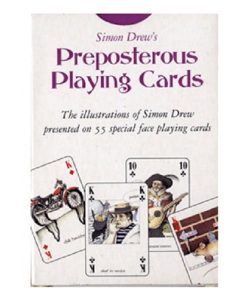 Preposterous Playing Cards, by Simon Drew