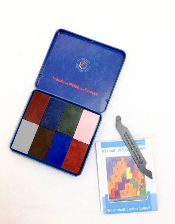 Stockmar Crayon Blocks Set of 8 Supplementary Assortment