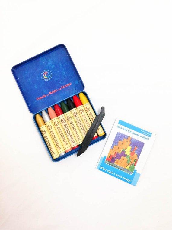Stockmar Crayon Sticks Set of 8- Supplementary assortment 02
