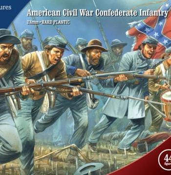 American Civil War Confederate Infantry 1861-1865
