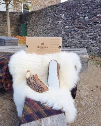 Shepherd Slippers Lina Leopard