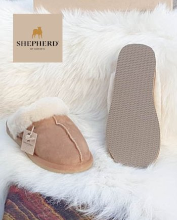 shepherd Slippers Jessica Chestnut