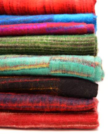 Yak Wool Scarves