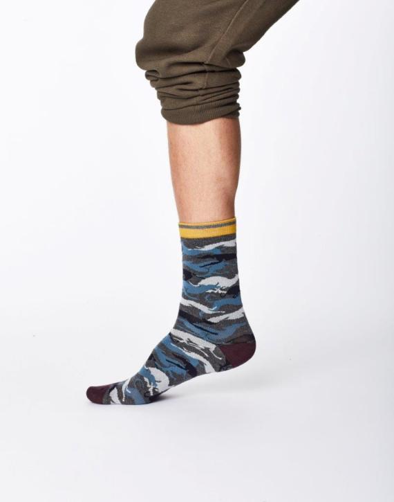 Thought Whippet Sock Mid Grey