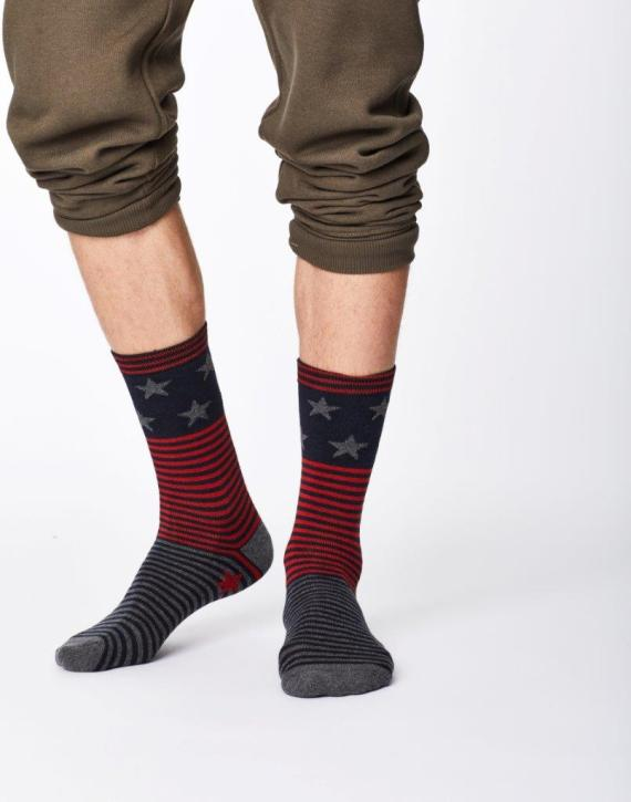 Thought Starry Sock Navy