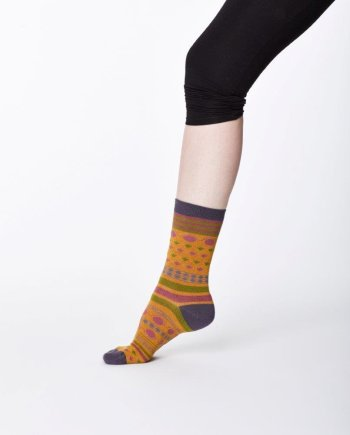 Thought Panvy Sock Mustard