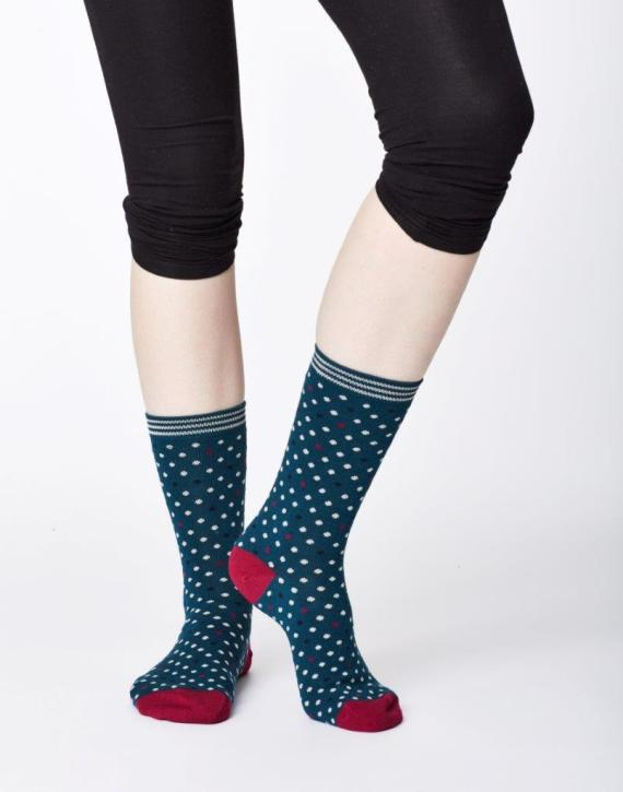 Thought Niven Sock Teal