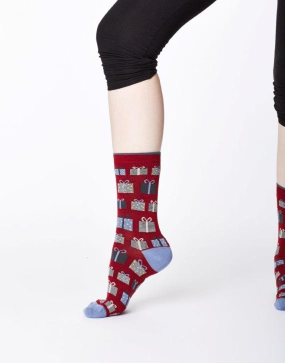 Thought Gifts Sock Red