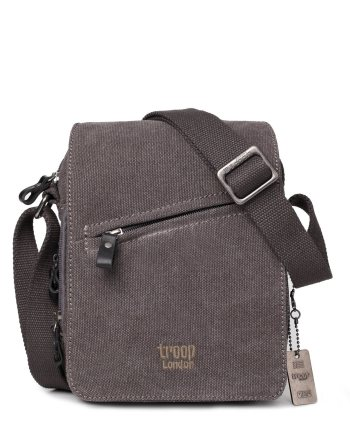 Classic Canvas Across Body Bag TRP0239 by Troop London