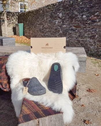 shepherd slippers isak black