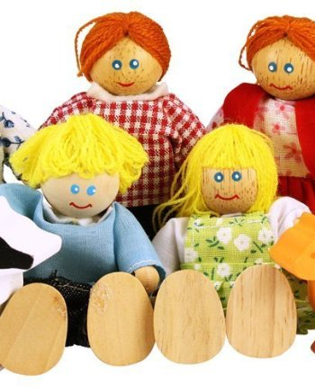 Family Doll Set by Bigjigs