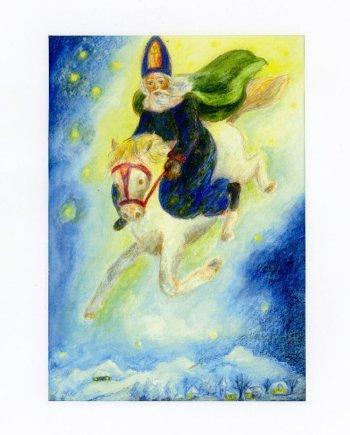 St Nicholas Card