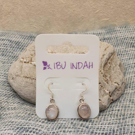 Ibu Indah 236 Silver Earrings