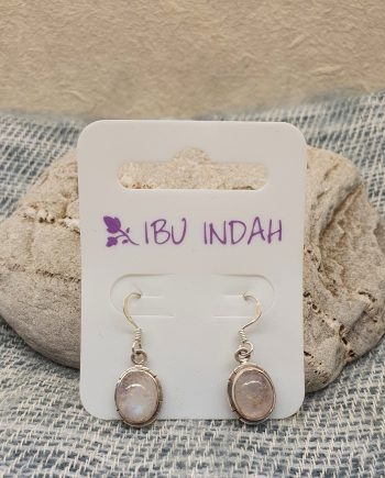 Ibu Indah 236 Silver Earrings