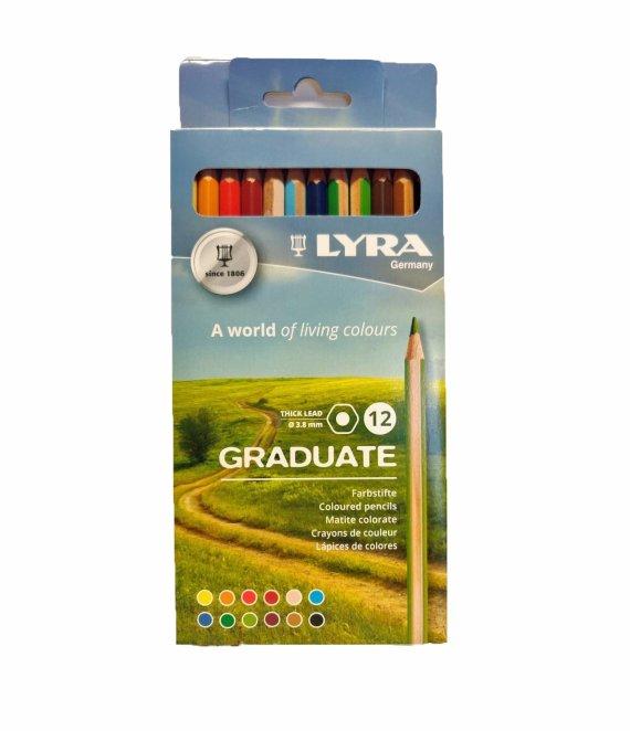 Lyra Graduate Aquarell 12 Set
