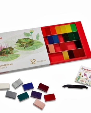 Stockmar Crayon Blocks Set 32 colours