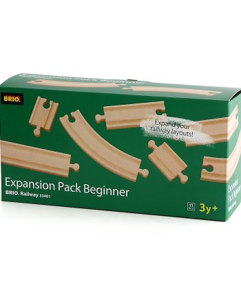 Beginners Expansion Set of track by BRIO