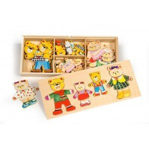 Bear Family by Bigjigs - wooden toys