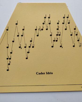 Cader Idris Music Sheet