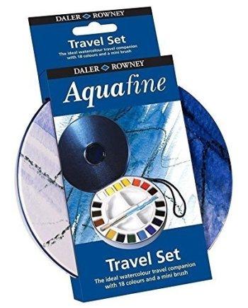Lyra Aquafine 18 Colour Mini Travel Watercolours Set