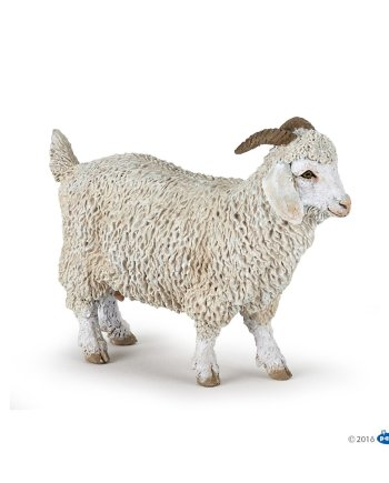 Papo Angora Goat, figurine