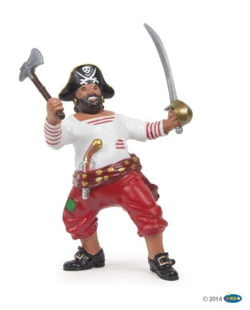 Papo Pirate With Axe, Figurine
