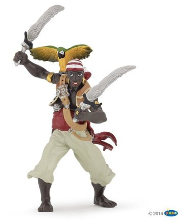 Papo Pirate With Sabres, Figurine