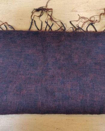 Yak Wool Dark Brown Scarves