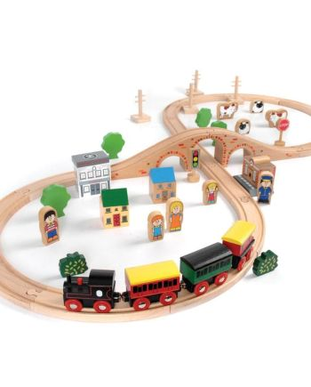 50 Piece Train Set by John Crane