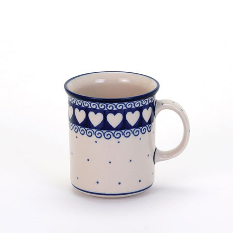 Light Hearted Everyday Mug, Polish Pottery Stoneware Ranges