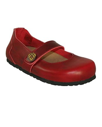 Oxygen Hastings Footbed Shoe Red