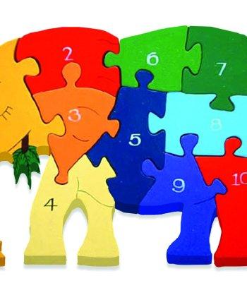 Number Elephant Puzzle