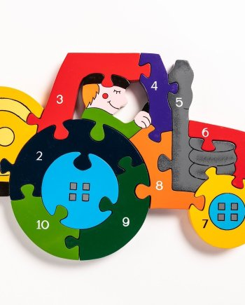 Number Tractor Puzzle