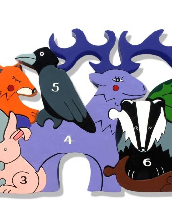 Number Woodland Puzzle