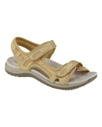 Earth Spirit Frisco Amber Yellow Sandal