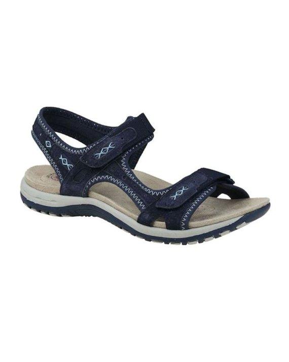 Earth Spirit Frisco Navy Blue Sandal