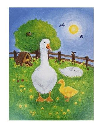 Geese Card
