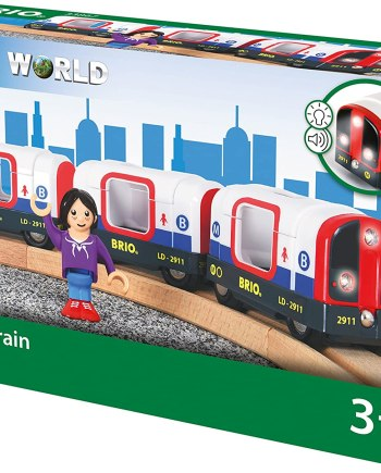 BRIO World Metro Tube Train