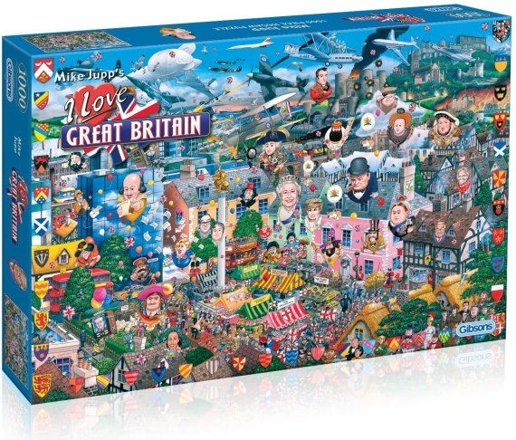 I Love Great Britain Jigsaw Puzzle