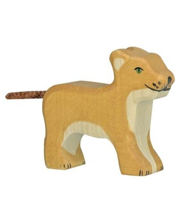 Holztiger Lion Small Standing