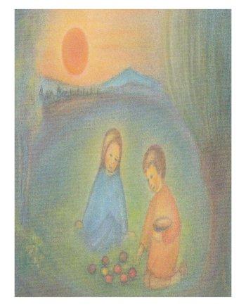 April Card Easter Sun