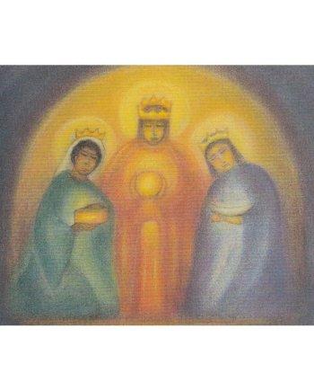 January Three Kings Folded Card