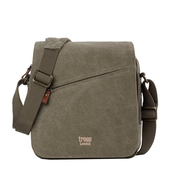 Classic Canvas Across Body Bag TRP0238 by Troop London