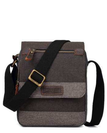 Classic Canvas Messenger Bag TRP0388 by Troop London