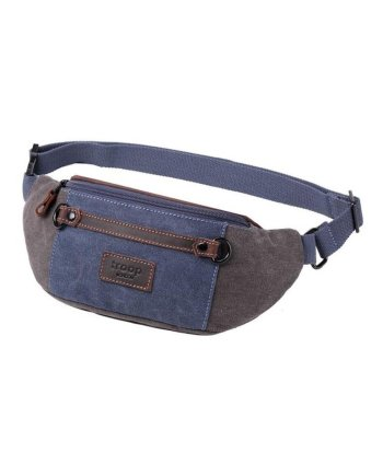 Classic Canvas waist bag TRP0468 by Troop London