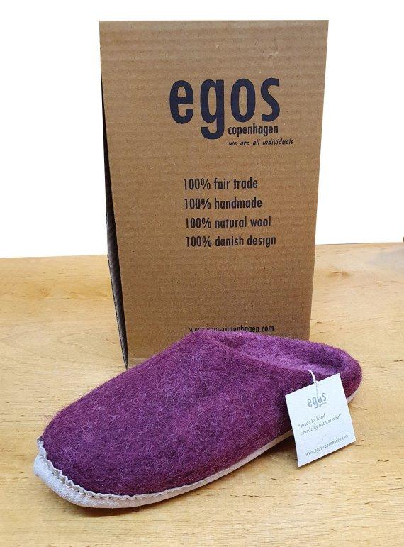 Egos Natural Bordeaux Mule Slipper