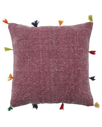 Namaste Baramsar stone washed cushion cover - Pink