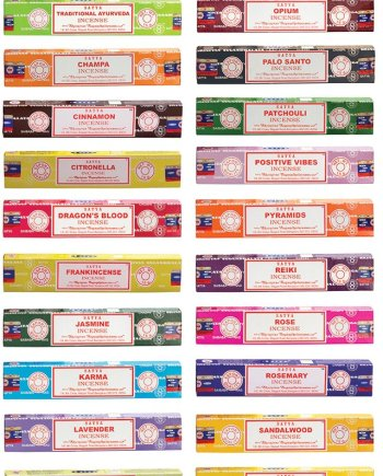 Namaste Satya Nag Champa Meditation Series - Incense sticks 15gms