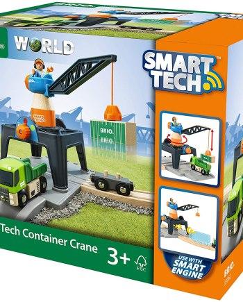BRIO World - Smart Tech-Container Crane